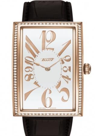 Tissot heritage classic prince i diamonds in 18k rose gold t71.8.109.32