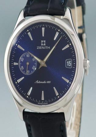 Zenith class elite men's automatic watch 90/01 0045 680