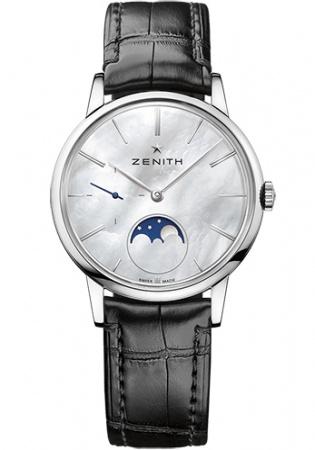 Zenith class elite moonphase men's automatic watch 03.2320.692/80.c714