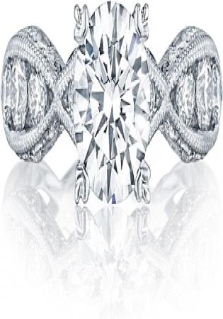 Ronaldo diamond criss cross channel set pave diamond engagement women' ring