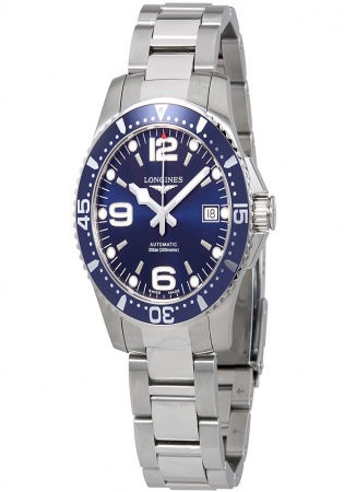 Longines hydroconquest blue stone automatic men's watch