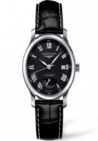Longines l2.708.4.78.6 master power reserve 38mm watch