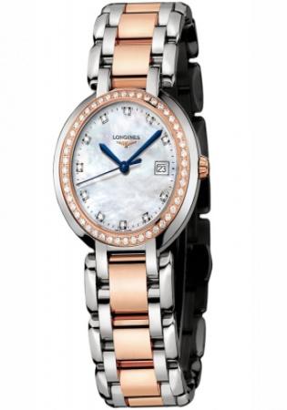 Ladies longines l8.112.5.89.6 primaluna quartz 30mm watch