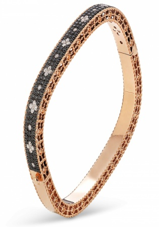 18k rose gold roberto coin venetian princess bracelet