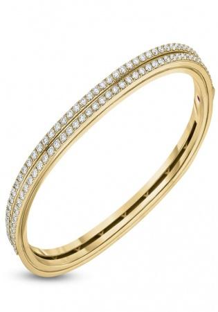 Roberto coin 18k rose gold diamonds portofino bracelet
